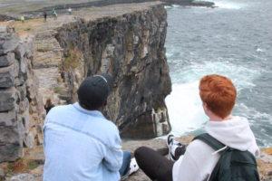 Dún Aonghasa cliffs