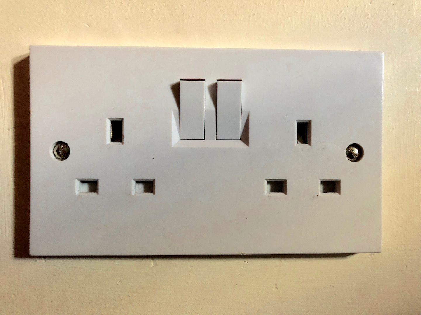Why is there a light switch on this outlet? – Blogging a Greener ireland